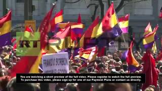 Spain: Thousands celebrate the republic