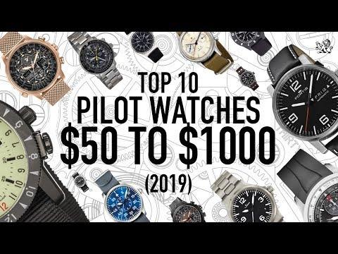 Top 10 BEST Pilot Watches $50 - $1000: Seiko, Citizen, Hamilton & More