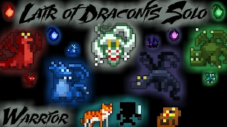 RotMG - Lair Of Draconis Solo (Warrior)