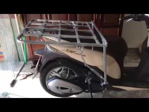 Baga/ Giá Chở Hàng Xe Máy Honda SH Mode - 0986634759
