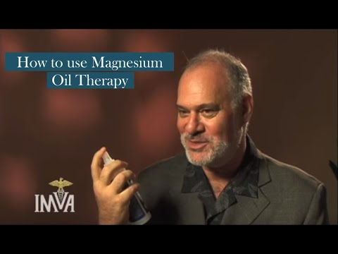 How to use Magnesium Oil Therapy – Mark Sircus, Ac., OMD