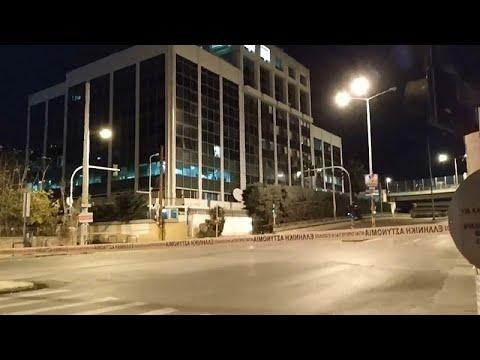 شاهد لحظة الانفجار قرب محطة -سكاي- اليونانية في أثينا  - نشر قبل 39 دقيقة