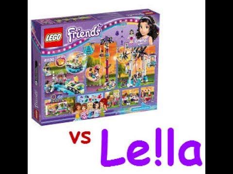 Le!la vs LEGO Friends Theme Park Part 2