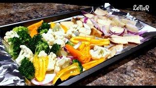 COOKBOOK: Овощи, запеченные в духовке. ОЧЕНЬ ПРОСТО И ВКУСНО