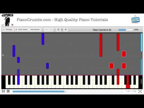 James Arthur - Impossible (X-Factor Winner) - Piano Tutorial