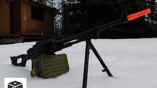 DICE Airsoft - A&K PKM Heavy Machine Gun Review