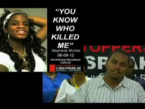 Crime Stoppers News Conference compilation of unsolved crimes