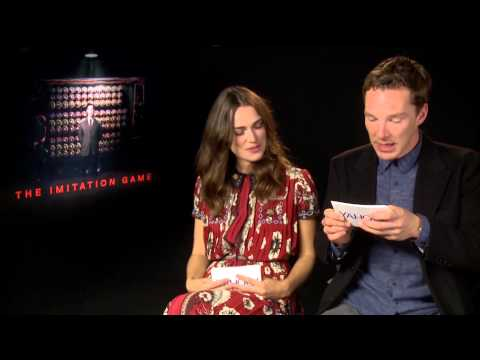Benedict Cumberbatch & Keira Knightley FUNNY INTERVIEW