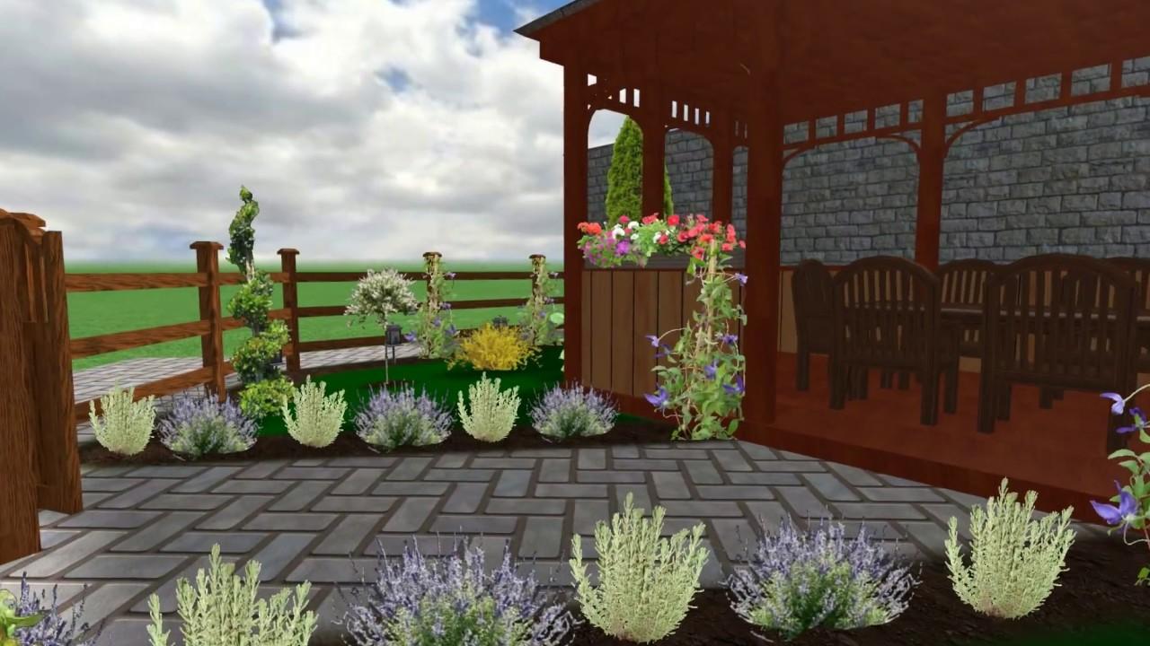 Amenajare foisor gradina terasa lemn decoratiuni de for Case cu terase