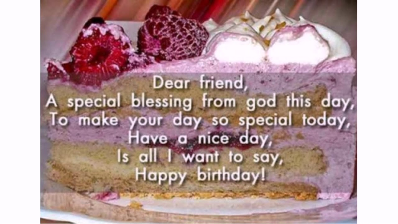 Happy Birthday Wishes For Male Friend | WishesGreeting