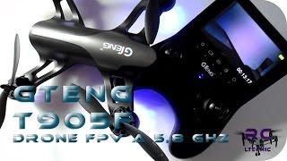 DRONES, GTENG T905F, drone FPV a 5,8 Ghz, Gearbest  En español(Drones, Gteng T905F, un drone con FPV a 5,8 Ghz, con una pantalla incluida en el mando de control, la cual nos permite hacer un buen fpv. Nos trae una ..., 2016-11-11T18:13:10.000Z)