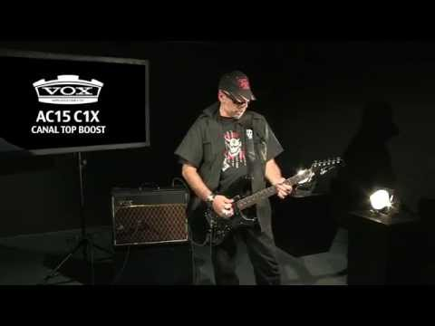 VOX AC15 C1X : l'avis de Judge Fredd ( La Boite Noire )