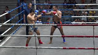 Thanongsaklek TigerMuayThai vs Anupong Lookthamsua 4/5/18