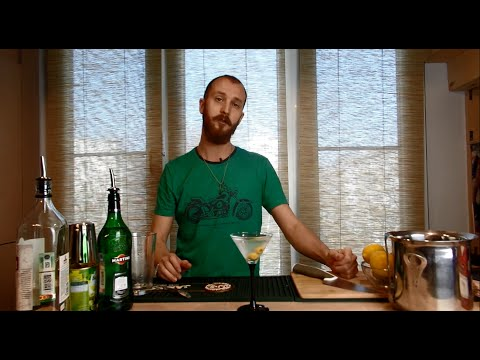 Как сделать сухой мартини