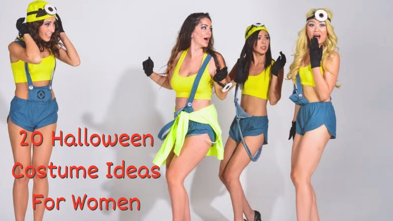 f01cd097b3d 20 Halloween Costume Ideas for Women in 2017 (Cheap   DIY) - YouTube