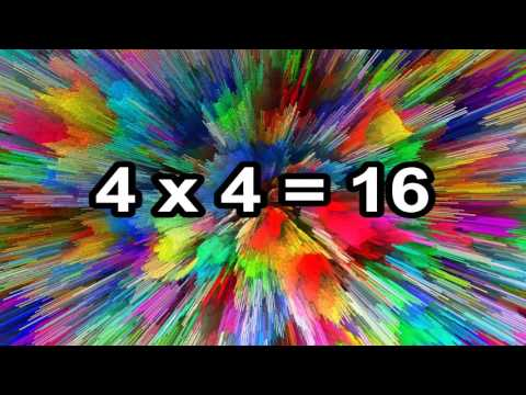 The 4 Times Table Song Multiplying  4  Silly School Songs