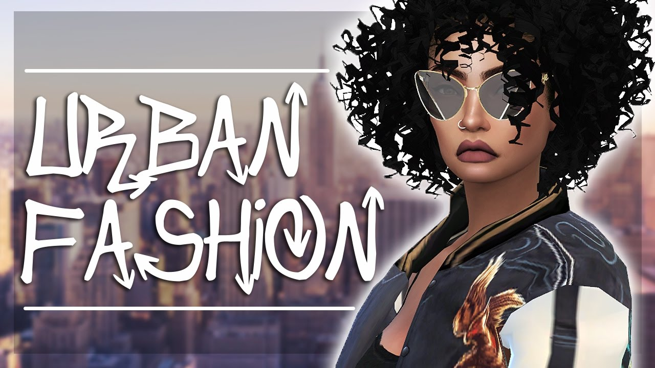 The Sims 4 Cas Urban Fashion Collab W Urbanprince