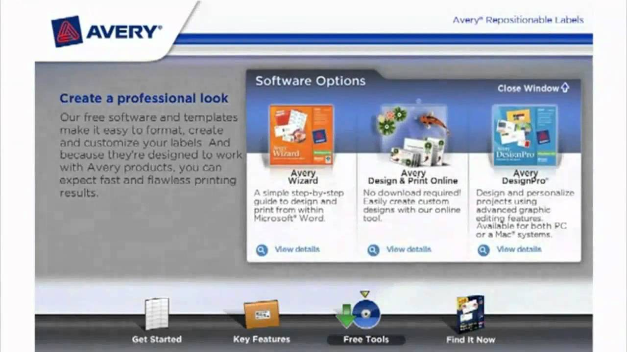 Avery Repositionable Labels Demo Video