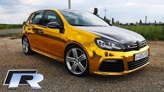 Тест-драйв VW GOLF R (380HP) - GOLD EDITION!
