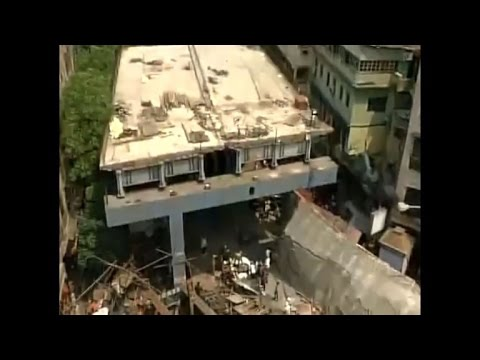 Mass casualties feared as flyover collapses in Kolkata