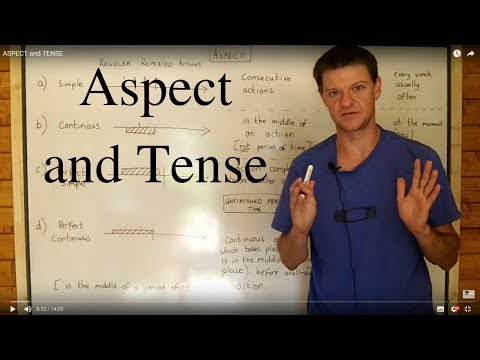 ASPECT and TENSE