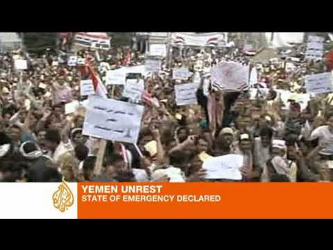 Yemen under state of emergency