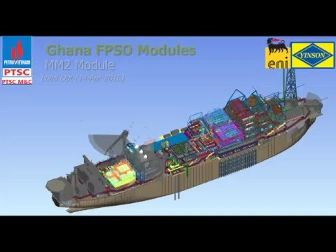 LOAD OUT MM2 (Ghana FPSO Modules)
