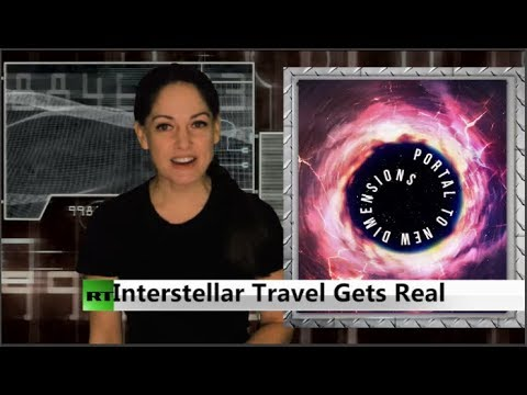 RT America: Black holes could open portals for hyperspace travel