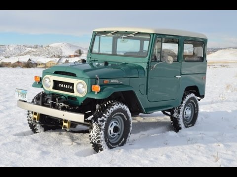 FOR SALE 1971 Toyota FJ40 LandCruiser
