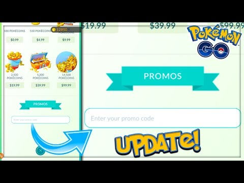 pokemon go update promotion codes are here but what is the code announcements youtube. Black Bedroom Furniture Sets. Home Design Ideas