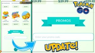 POKEMON GO UPDATE! PROMOTION CODES ARE HERE... BUT WHAT IS THE CODE? + Announcements