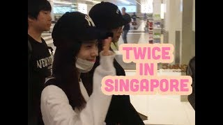 Video [FANCAM] 170924 Twice (트와이스) Arrival - Singapore Changi Airport (Members Close Up) download MP3, 3GP, MP4, WEBM, AVI, FLV Juni 2018
