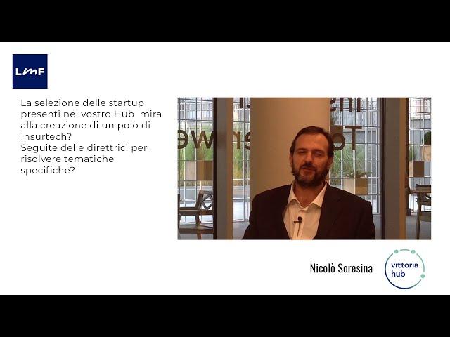 Vittoria Hub - La selezione delle startup - Chillemi/Soresina