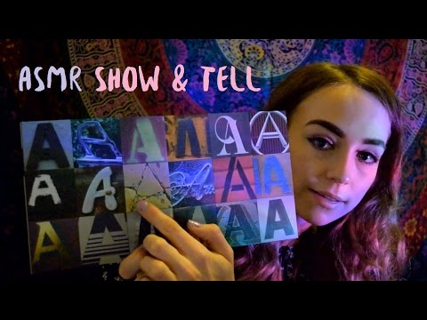 ASMR Show & Tell: Book Collection Part 1