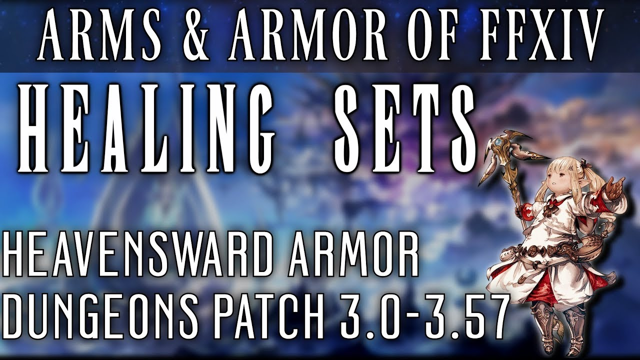 All Healing Dungeon Armor Sets of HW (Patch 3 0-3 57)