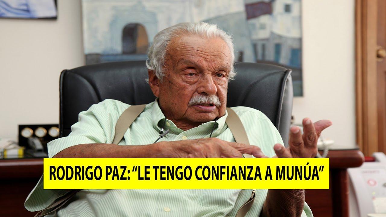 """Rodrigo Paz: """"Le tengo confianza a Munúa, los jugadores lo respetan"""" 17-04-2017"""