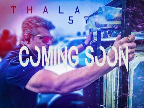 New Vivegam Ak 57 First Look Poster  OFFICIAL Ajith Kumar  | By Siva