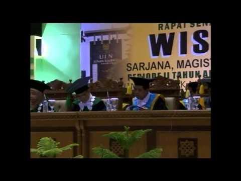 Wisuda UIN Sunan Kalijaga Yogyakarta Periode II 6 April 2013