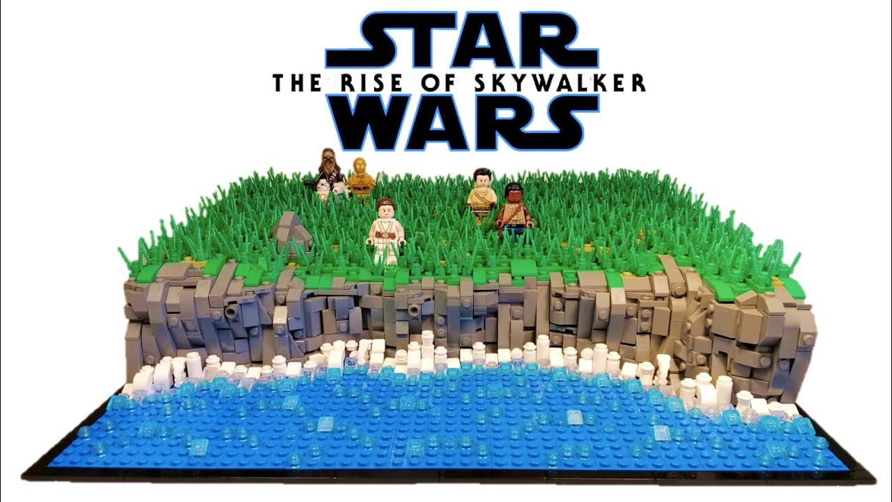 Lego Star Wars The Rise Of Skywalker Moc Review Ep Ix Moc Looking At The Death Star Ruins Youtube