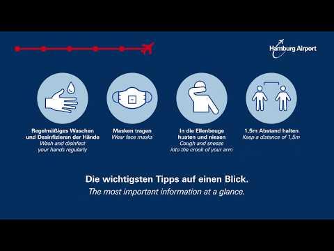 Sicher fliegen ab Hamburg Airport: Aktuelle Verhaltensregeln und Hygienehinweise im Überblick