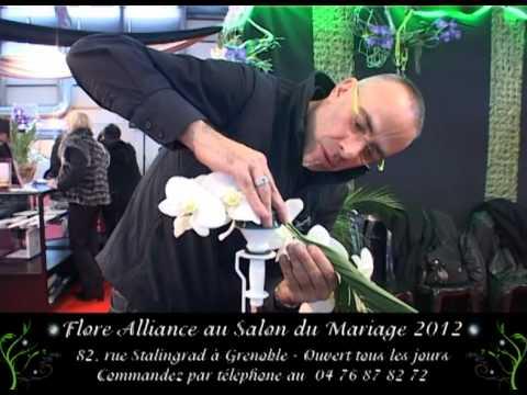 Flore alliance designer v g tal au salon du mariage de grenoble 2012 youtube - Salon du mariage grenoble ...
