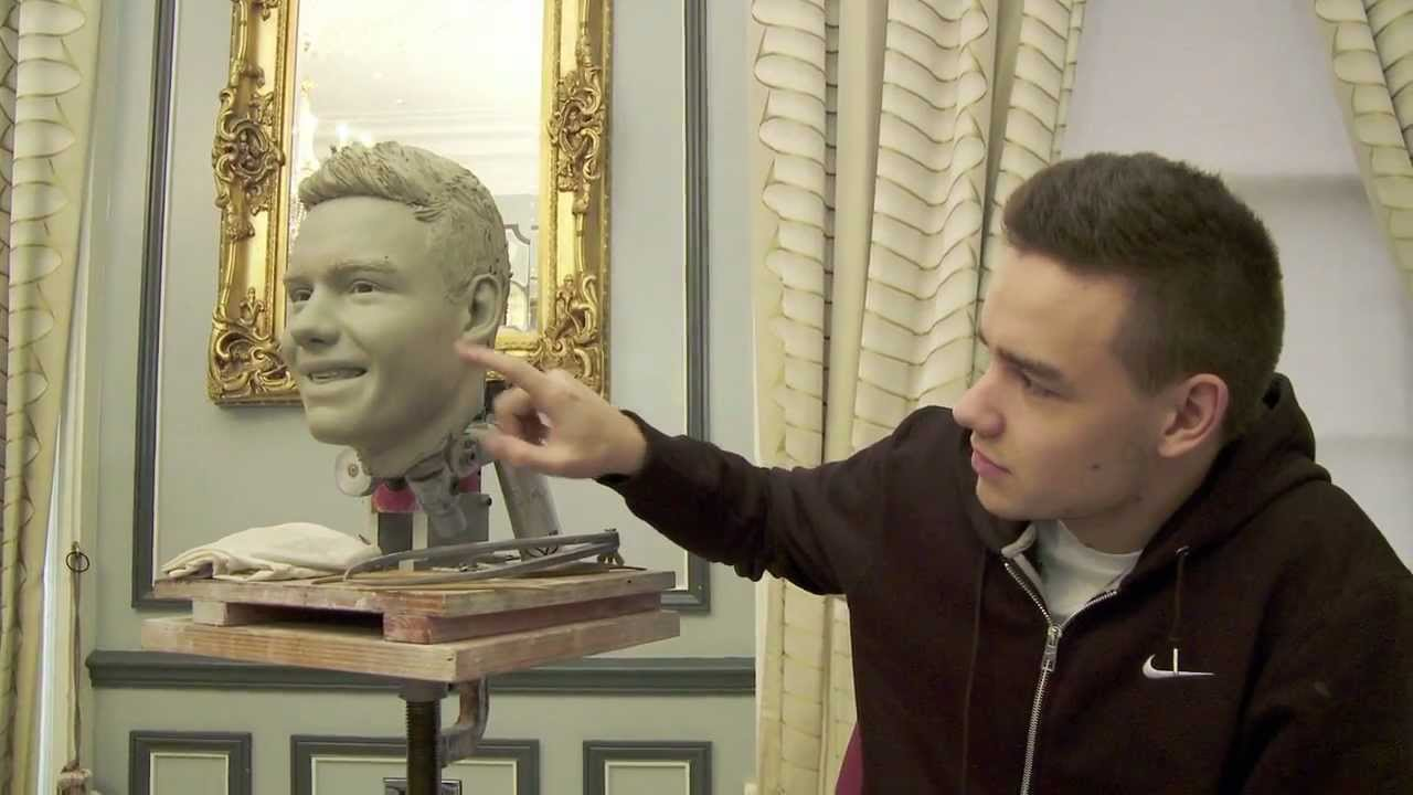 sculpting liam payne from one direction at madame tussauds. Black Bedroom Furniture Sets. Home Design Ideas