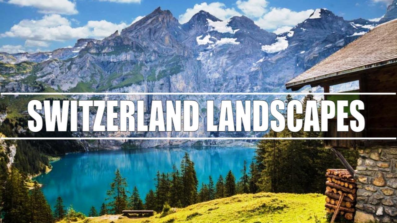 SUIZA, país de lagos y montañas, paisajes hermosos | Landscapes