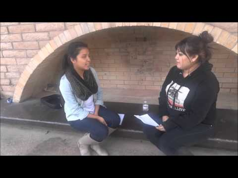 Estela Gonzalez and Monica Luna interview project for Spanis