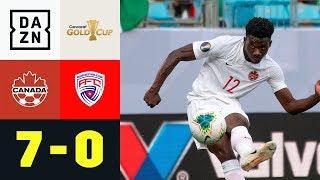 Alphonso Davies und Co. zerlegen Kuba: Kanada - Kuba 7:0 | Gold Cup | DAZN Highlights