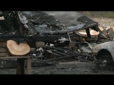 Johnston Twp. family left homeless after early morning fire