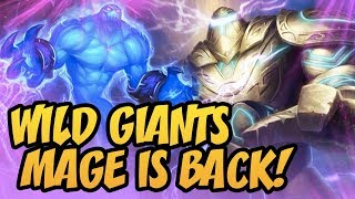 Wild Giants Mage Is Back! | Rise Of Shadows | Hearthstone