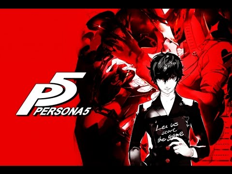 Persona 5 Protagonist Trailer Poster