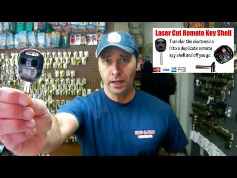 Laser Cut Sidewinder Keys San Diego