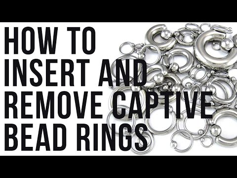 How To Insert & Remove Captive Bead Rings | UrbanBodyJewelry.com
